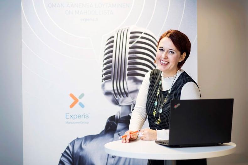 Pia Santanen, Experis Finland